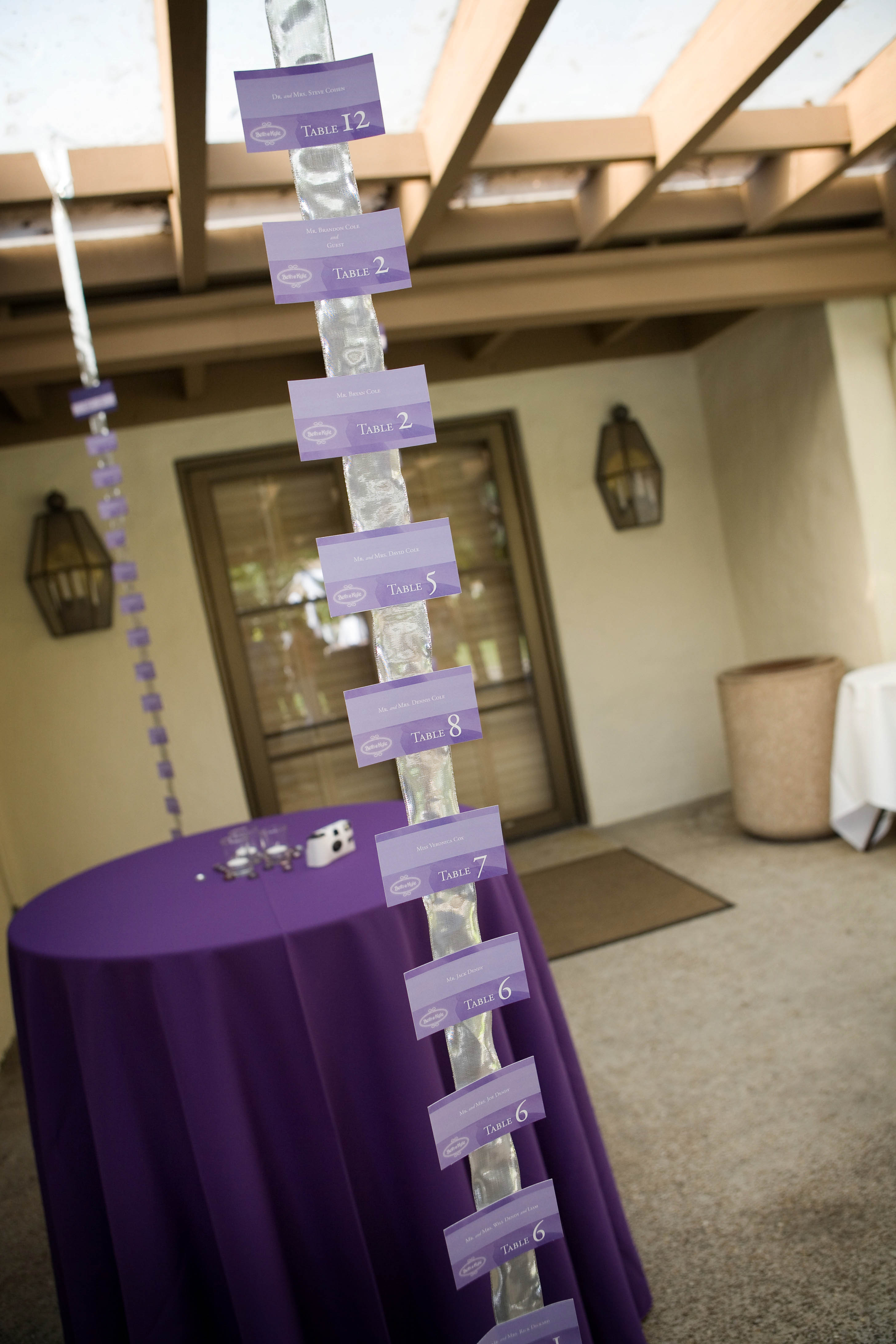 Wedding Escort / Place Card Ideas | At Your Side Planning