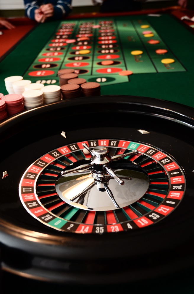 Valise a roulette geant casino