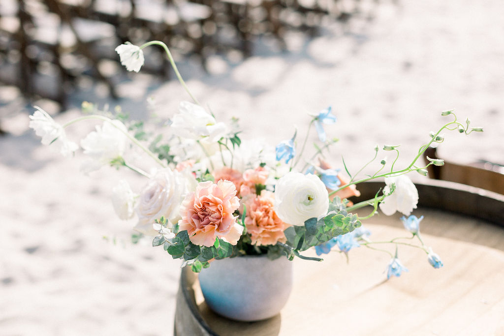 san diego elopement flowers
